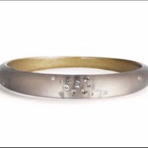 Alexis Bittar Dust Skinny Tapered Bangle Bracelet